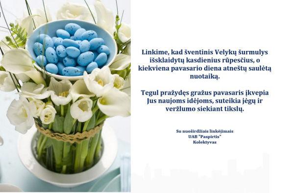 Paspirtis_Velyku sveikinimas