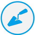 Trowel Icon plain